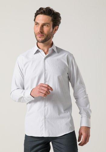 Camisa Social Masculina Manga Longa Branca