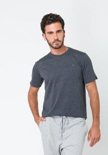 Camiseta Masculina Básica Grafite