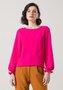 Blusa Feminina com Recorte na Frente Rosa Pink