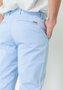Calça de Sarja Masculina Slim Bolso Faca Azul Claro