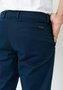 Calça de Sarja Masculina Slim Bolso Faca Azul Marinho