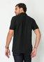 Camisa Polo Piquet Manga Curta Preto