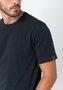 Camiseta Masculina Básica Algodão com Elastano Preta