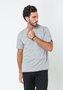 Camiseta Masculina Básica Cinza