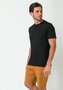 Camiseta Masculina Básica Preto