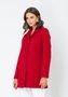 Casaco de Lã Feminino Vermelho