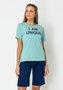 T-shirt Feminina Color Basic Verde Claro