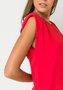 Vestido Muscle Curto Vermelho